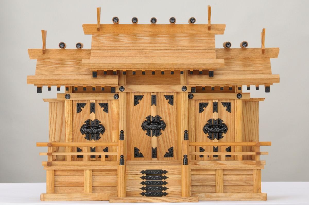 ケヤキ神棚